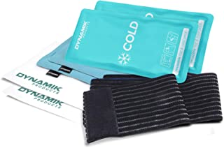 comprar comparacion Paquete de gel reutilizable caliente y frío Dynamik Products con cubierta de compresión