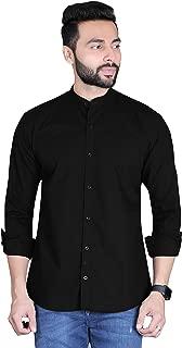 Fifth Anfold Mandarine Collar Casual Pure Cotton Full Sliv Shirt