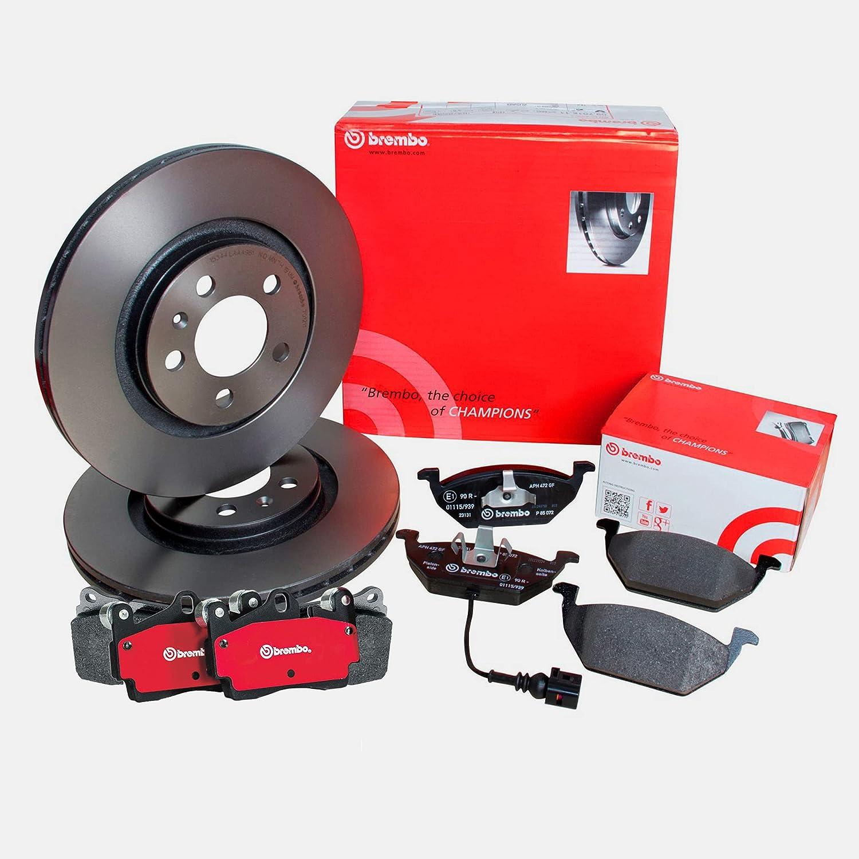 Premium Front Brake Super Sale price special price Kit Ceramic 298mm Pad For Set Rotors Disc La