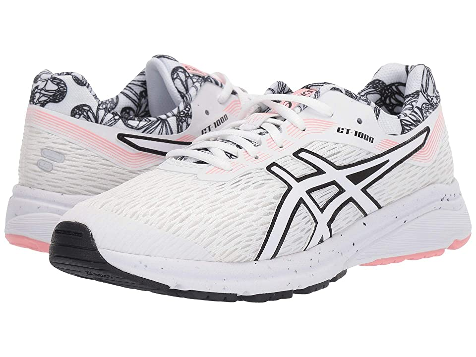 ASICS Kids GT-1000 7 GS SP (Big Kid) (White) Girls Shoes