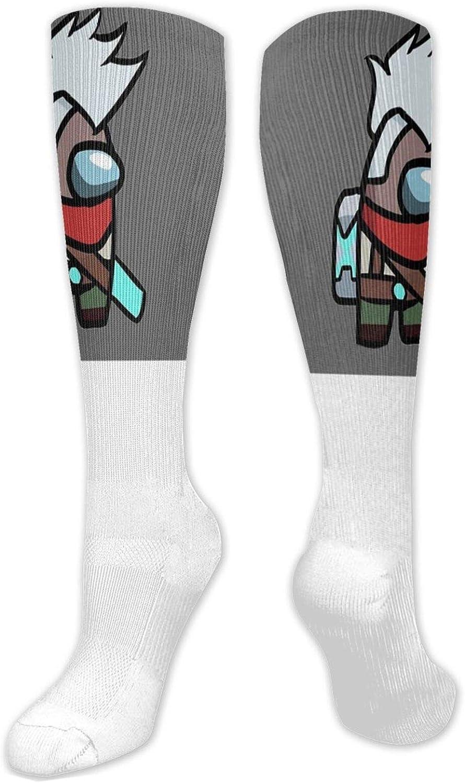 Among US Plush Winter Warm Stockings Unisex One Size Mask Theme Funny Socks