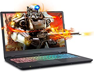 Sager NP8968 0.78 Inches Thin & Light Gaming Laptop, 16.1 Inches FHD 144Hz Narrow Bezel Display, Intel Core i7-9750H, NVIDIA RTX 2080 8GB DDR6, 32GB 3000MHz RAM, 500GB NVMe SSD + 2TB SSHD, Windows 10