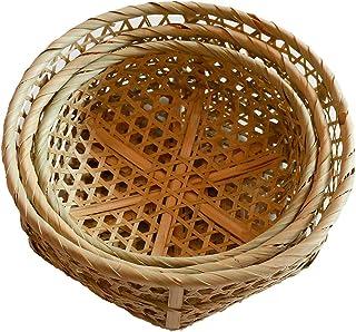Panier de rangement Boîtes De Conservation Paniers De Contenants D'organisateur De Panier En Bambou Hexagonal Faits À La M...