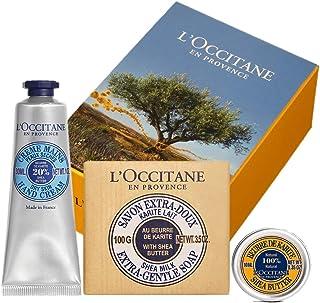ロクシタン(L'OCCITANE) シア モイスチャ―セット(ハンドクリーム+シアバター+ソープ)