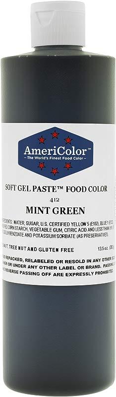 MINT GREEN 13 5 Ounce Soft Gel Paste Food Color