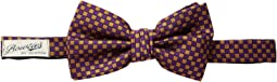 Scotch & Soda - Classic Bowtie with Colourful Jacquard Pattern