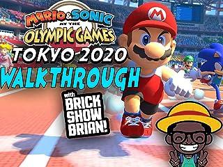 Mario & Sonic Olympic Games Tokyo 2020 Walkthrough With Brick Show Brian