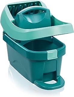 Leifheit Essore-housse Profi XL avec roulettes et pédale d'essorage, seau essoreur pratique compatible avec lave-sol Prof...