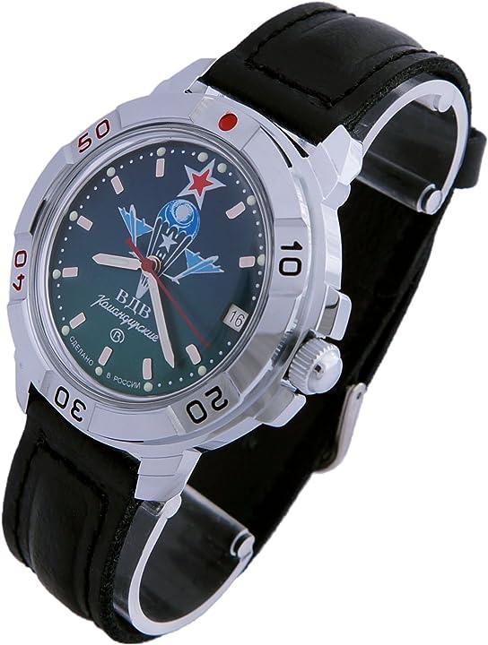 Orologio militare vostok komandirskie military russian commander watch paratrooper vdv 2414 / 431021