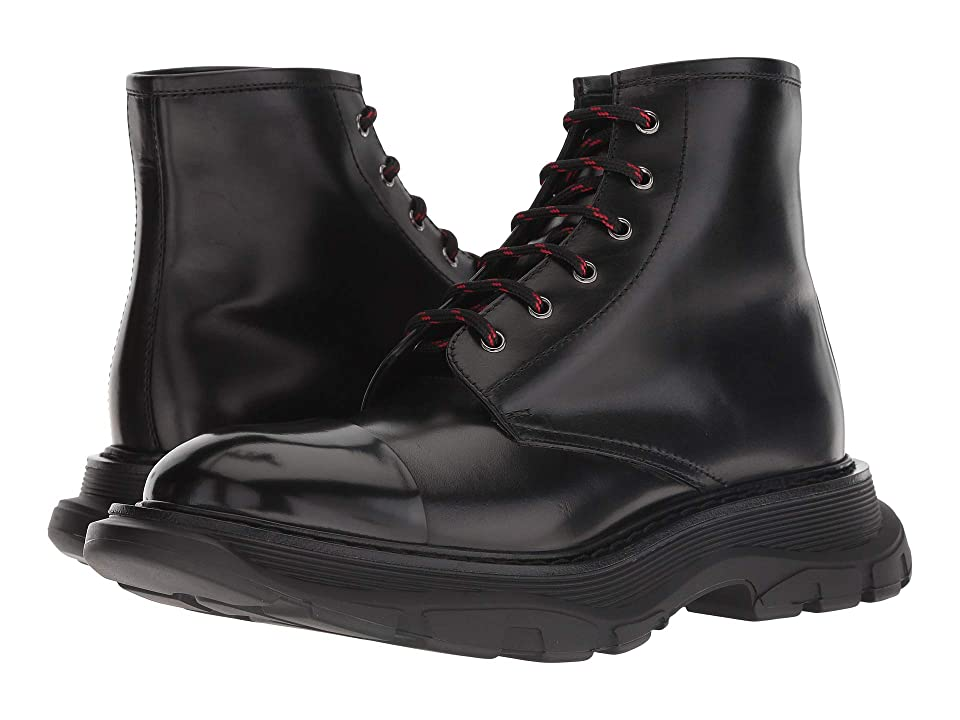 Alexander McQueen Runner Sole Boot (Black) Men