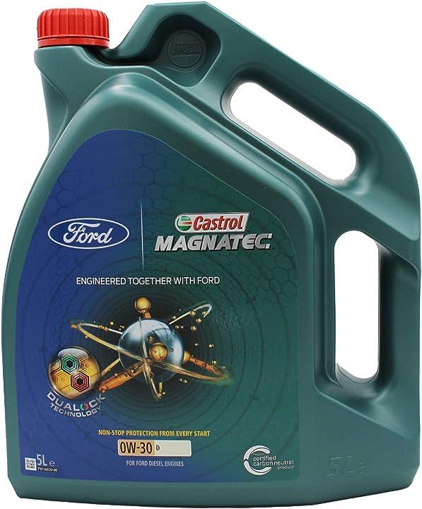 Olio motore castrol magnatec 0 w-30 d 5 litri 15422F