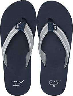 38beaec68c99 Vineyard Vines. Leather Flip Flops.  49.50. 4Rated 4 stars. Barracuda