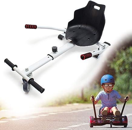 Wiltec Sitzscooter Weiß Kartsitz Elektrokart Hoverkart Hoverseat Schalensitz Hoversitz Hoverboard