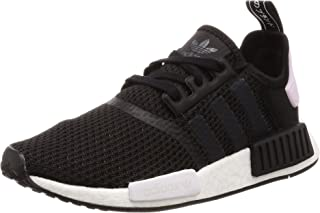 adidas Women's NMD_R1 Shoes, Core Black/Footwear White/Clear Pink, 8.5 US (8.5 AU)