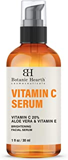 BOTANIC HEARTH Vitamin C Serum for Face - Facial Serum with Stabilized Formulation for Long Shelf Life - Anti Aging, Advan...