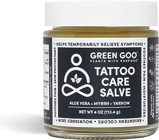 Sponsored Ad - Green Goo Natural Skin Care Salve, Tattoo Care, 4-Ounce Jar