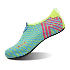 6a4f1adc79f L-RUN Womens Mens Water Shoes Barefoot Skin Aqua Shoes Athlet .