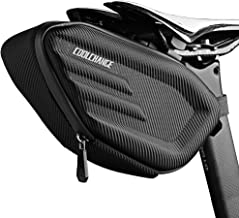 Cool Change Bike Saddle Bag Large Capacity | Hard Shell | Quick Release | Water Resistance Cycling Bag