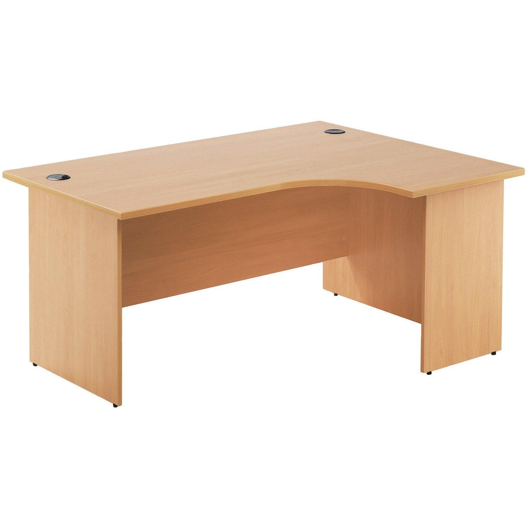 Una media luna mesa escritorio: Amazon.es: Oficina y papelería