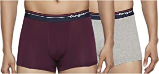 Longies Men's Plain Trunks (Pack of 2)