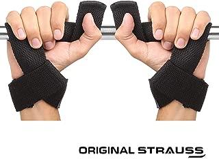 Strauss PT Cotton Wrist Support, (Black)