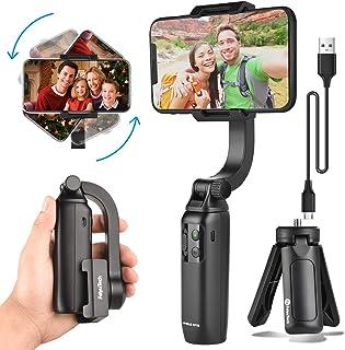 FeiyuTech Handheld Gimbal Stabilizer for Smartphone Mini Anti-Shake Foldable Gimbal Tripod Selfie Stick for iPhone Samsung...