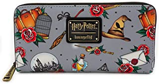 Loungefly x Harry Potter Relics Tattoo Allover-Print Wallet