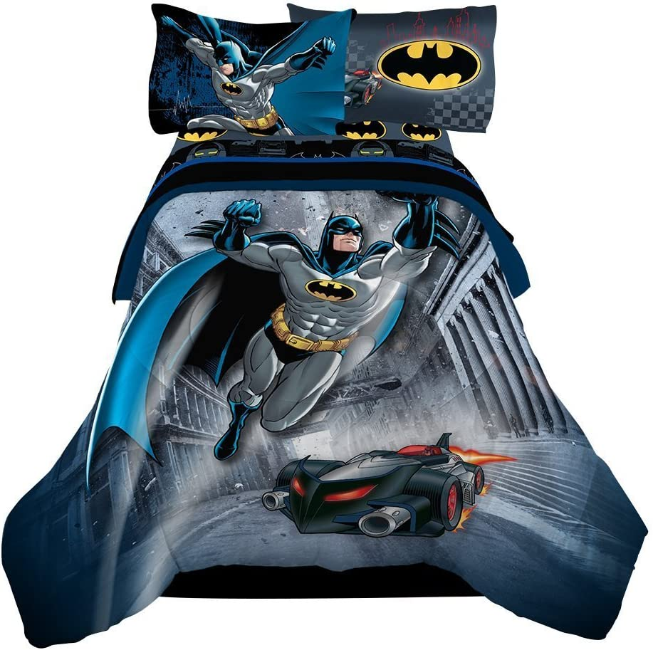 Reversible Batman Luxury 4pc Twin Comforter the Popular shop is the lowest price challenge featuring Sheet Set