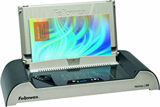 Fellowes Helios 30 - máquinas de encuadernación térmica (530 x 240 x 100 mm, Grafito, Color blanco), UK enchufe