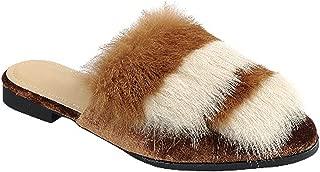 TravelNut Summer Special Victoria Low Heel Slip On Scuff Slipper Shoe for Women (Assorted Styles)