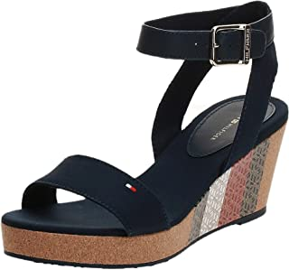 Tommy Hilfiger MONOGRAM CORK MID WEDGE SANDAL Women's Sandal