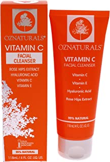 OZ Naturals Vitamin C Facial Cleanser 118ml