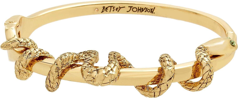 Betsey Johnson Snake Bangle Bracelet