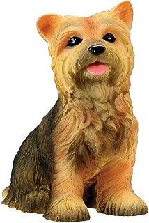Yorkshire Terrier Puppy / Dog - Yorkie Statue Figurine Sculpture Model
