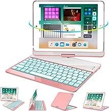 Greenlaw iPad 9.7 Keyboard Case Compatible iPad 2018(6th Gen)/2017(5th Gen)/iPad Pro 9.7/Air 2/Air, 360 Rotate 7 Color Bac...