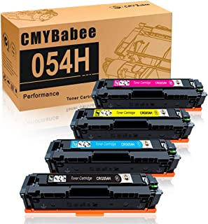 CMYBabee Compatible Toner Cartridge for High Yield Canon 054 054H CRG-054 for Canon MF644Cdw MF642Cdw MF640C LBP622Cdw - 4Pack