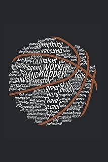 Foul Talent Skills Fails Rebound | Basketball Trainings Notizen: Notizbuch A5 120 Seiten liniert