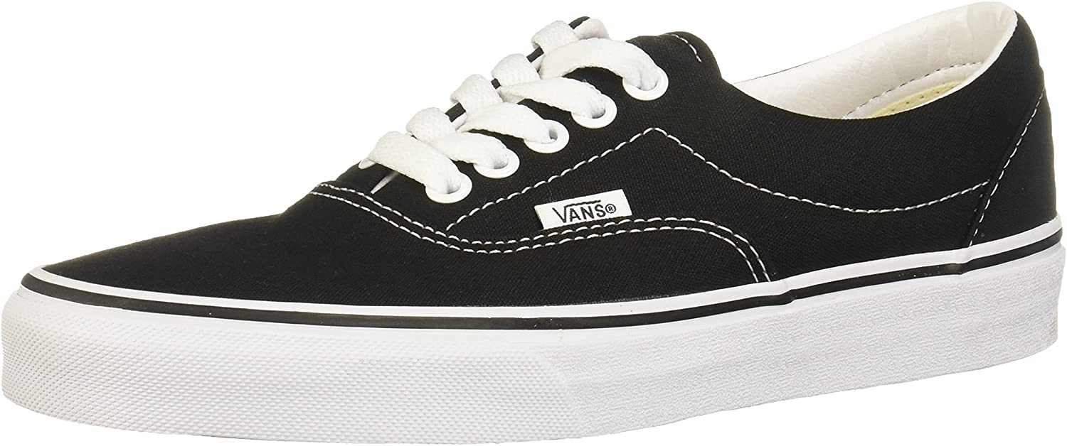 VANS Unisex Era Skate Shoes Classic Style Du 4 years warranty in Low-Top Lace-up Translated