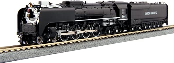 Kato USA Model Train Products 1260401 N Scale Union Pacific FEF-3 Steam Locomotive Train 844
