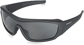Bobster Enforcer Oversized Sunglasses, Black Frame/Smoke, Clear, Amber Lenses