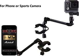 OCTO MOUNTS - Magnetic 360-degree Adjustable Desktop or Guitar Mic Bass Drum Keyboard Music Stand Mount for Smartphone or ...