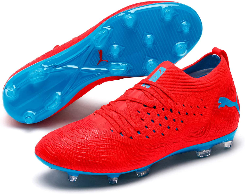 PUMA Mens Future 19.2 Netfit Firm Ground Artificial Grass Lightweight Football Boots