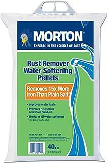 Morton Rust Remover Super Pellets Salt - 40lbs