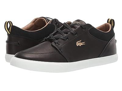 Lacoste Bayliss Premium 319 1 U (Black/Off-White) Men