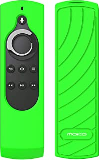"MoKo Silicone Remote Case Compatible with 5.9"" Fire TV Stick 2020 Release 2016 Release with Alexa Voice Remote Control (1s..."