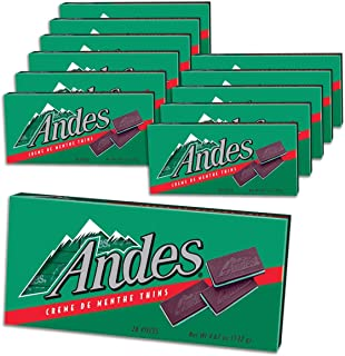 Andes Creme De Menthe Thins, 4.67-Ounce (Pack of 12)