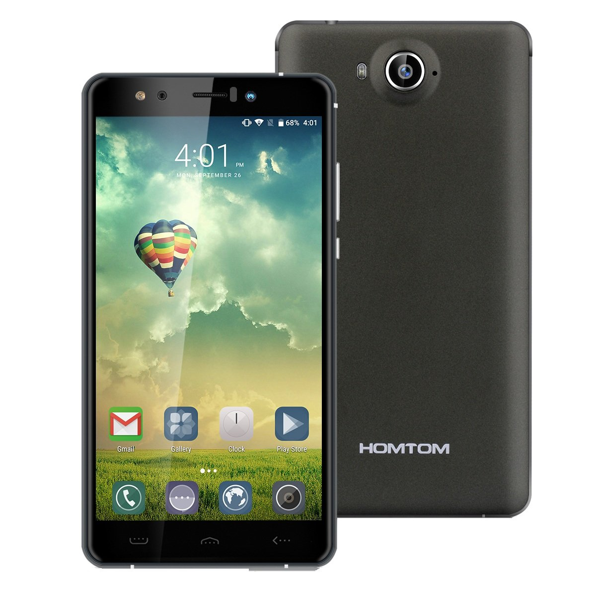 Homtom HT10 - (32GB) Smartphone libre 4G LTE (Android 6.0 ...