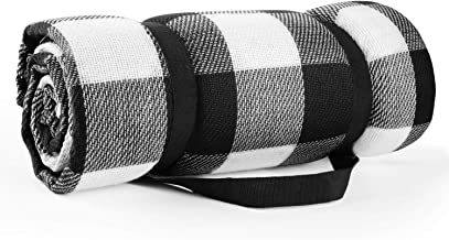Simpeak Picknickdeken met waterdichte achterkant 200x200cm XXL, Draagbare Opvouwbare Grote Strandmat Picknicware voor Outd...