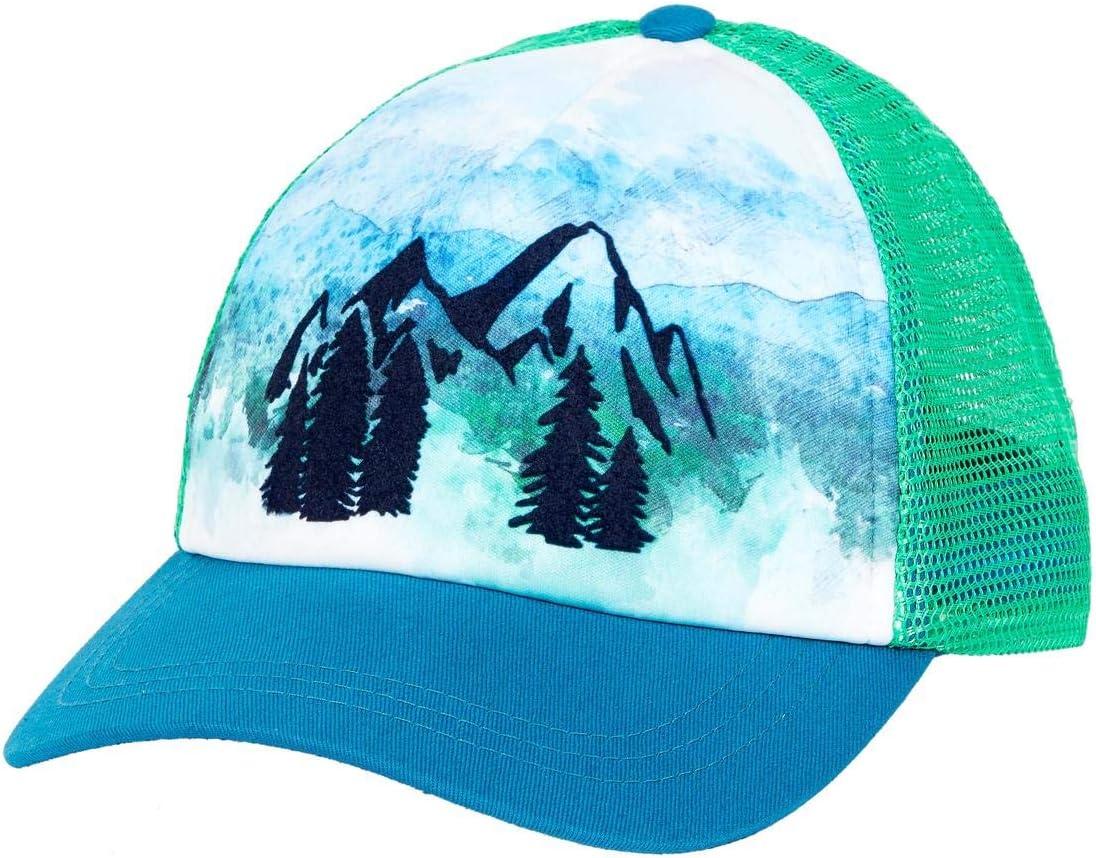 Turtle Fur Great Outdoors Mesh Back Mountain Snapback Trucker Hat