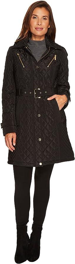 MICHAEL Michael Kors - Snap Quilt with Hood M423024CZ